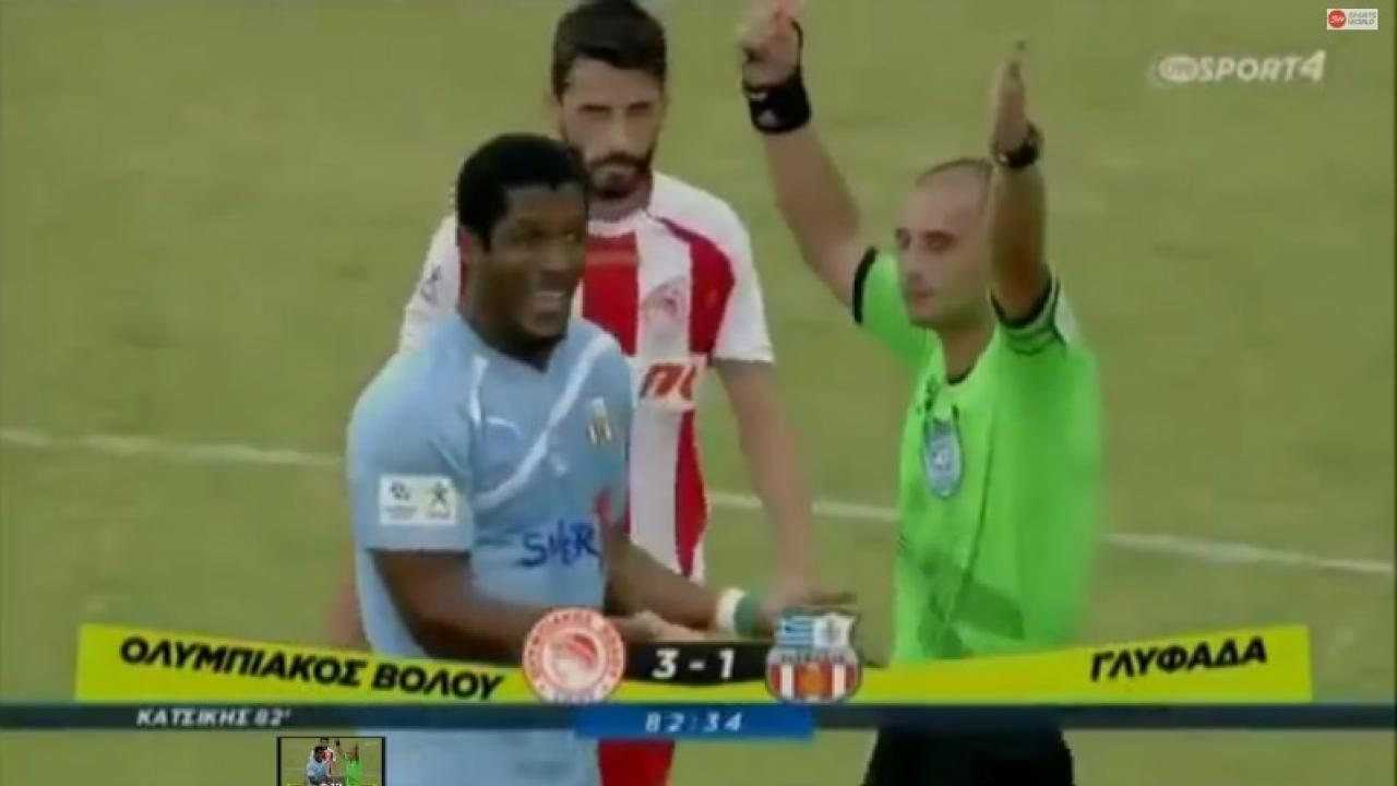 player gets red carded in just 11 seconds the18