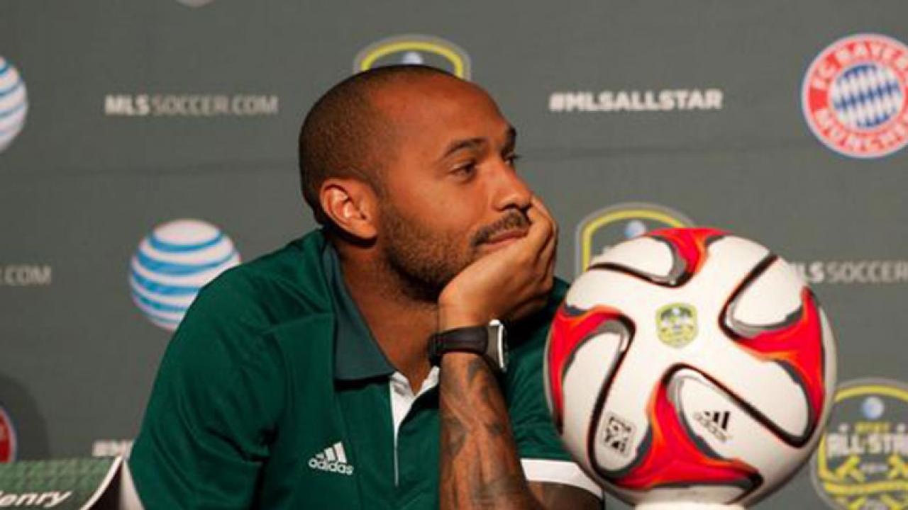 """Thierry Henry To His Son """"Don t Copy Ronaldo Messi"""""""