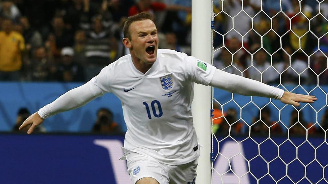 Wayne Rooney england 50 goals