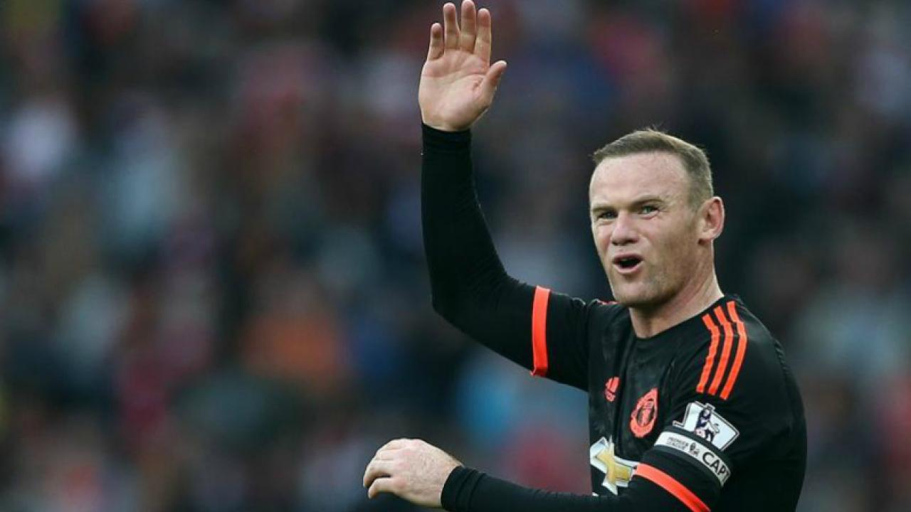 Wayne Rooney Decline? The Manchester United captain waves goodbye.