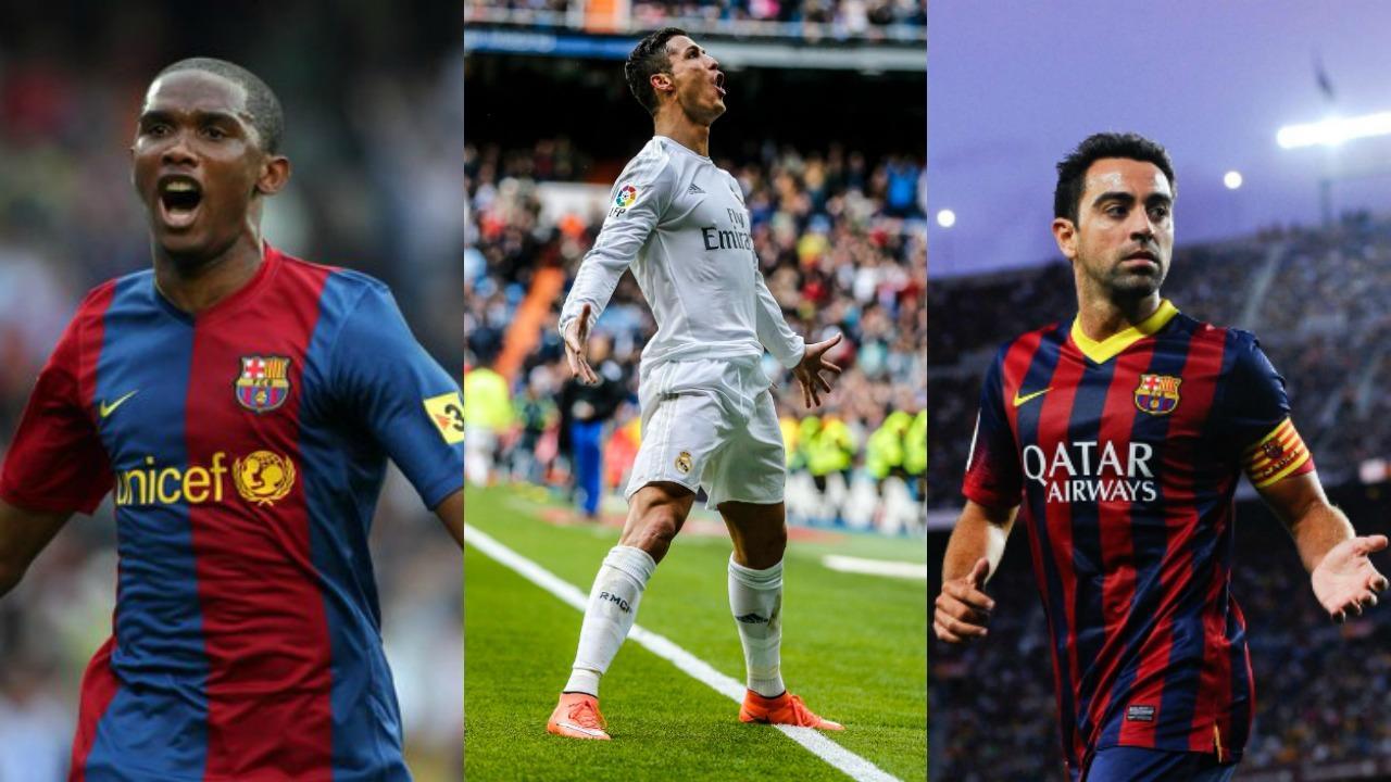 Samuel Eto o Enters War Words Between Ronaldo And Xavi