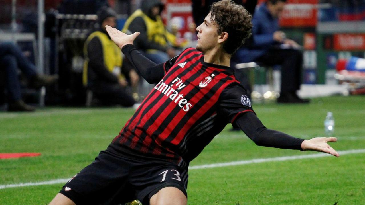 AC Milan's Manuel Locatelli