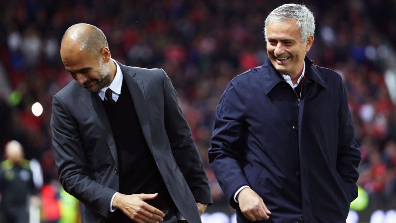 Guardiola and Mourinho