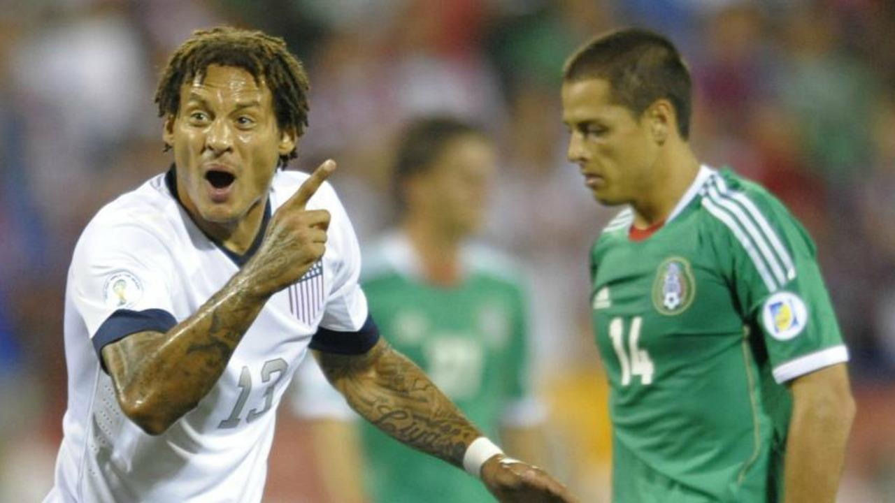 Jermaine Jones and Javier 'Chicharito' Hernandez