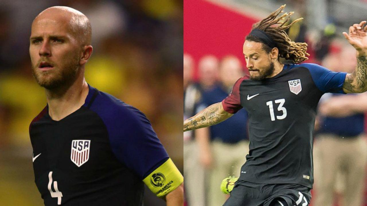 Michael Bradley and Jermaine Jones