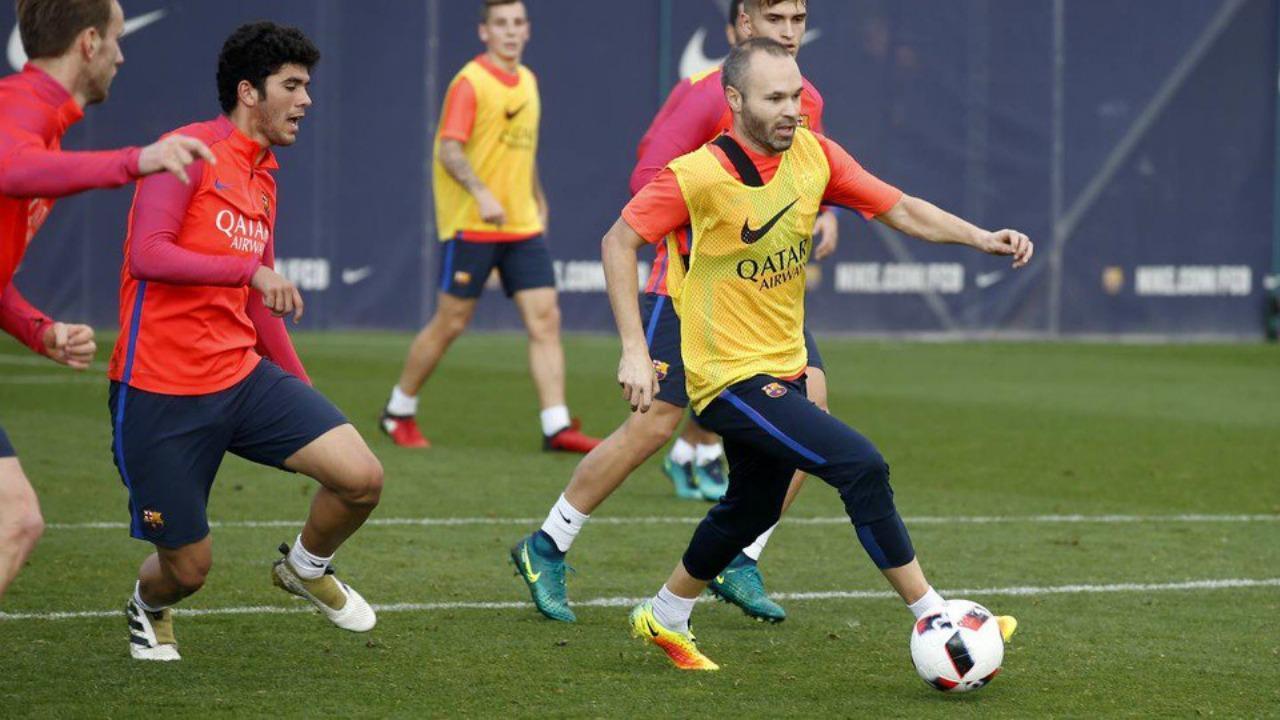 Andres Iniesta injury and El Clasico status