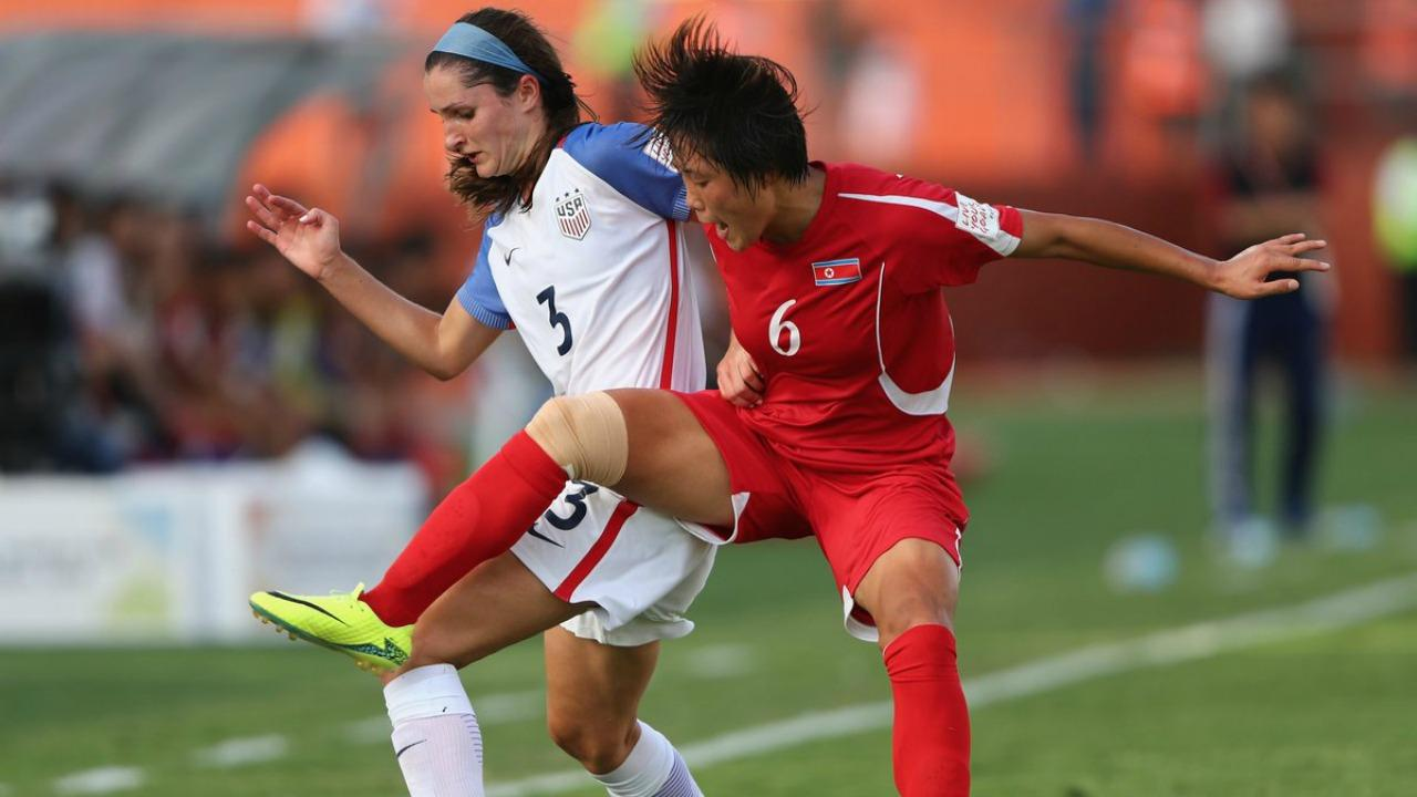 U-20 USWNT defeated by North Korea, 2-1.