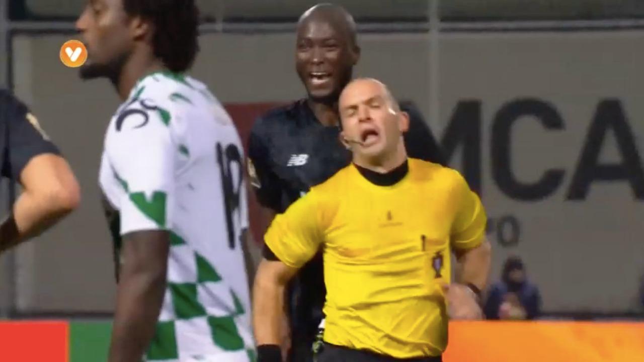 Danilo is sent off