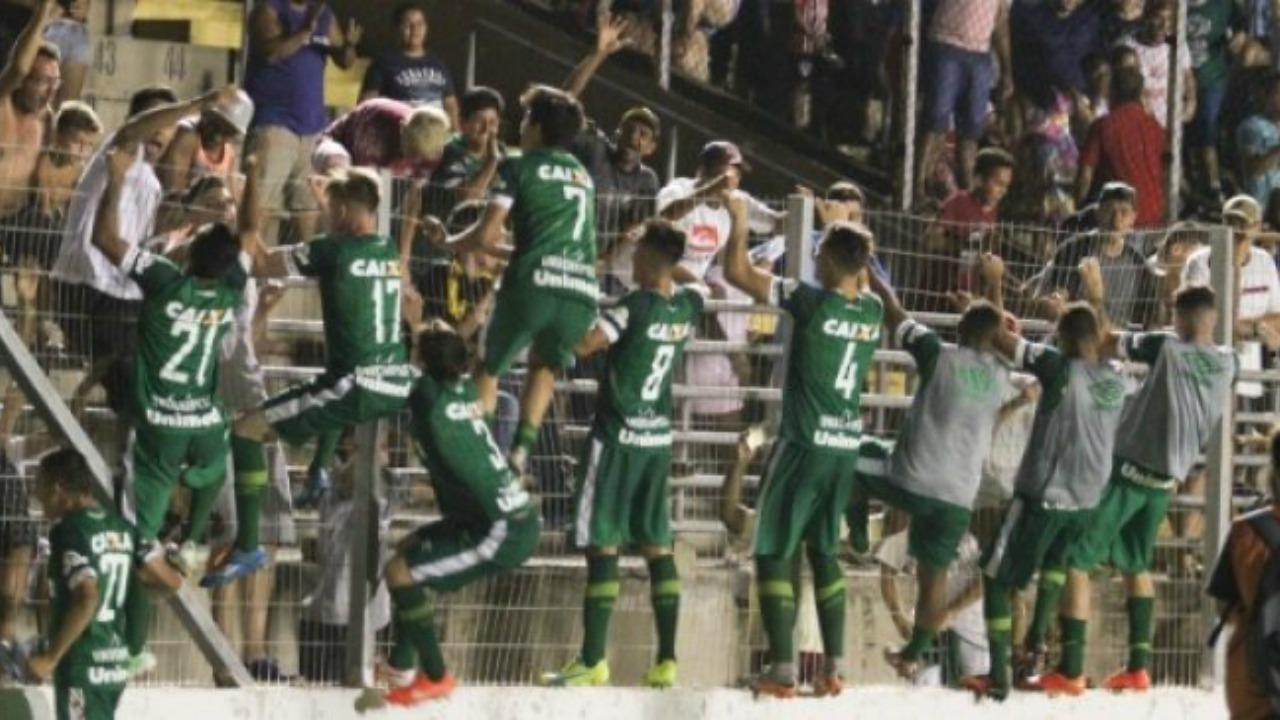 Chapecoense U-20s defeat Sao Paulo