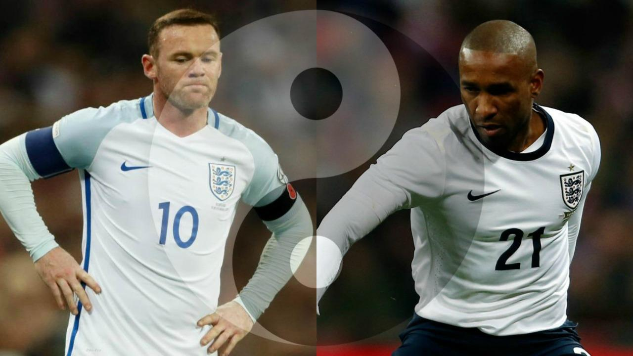 Wayne Rooney and Jermain Defoe