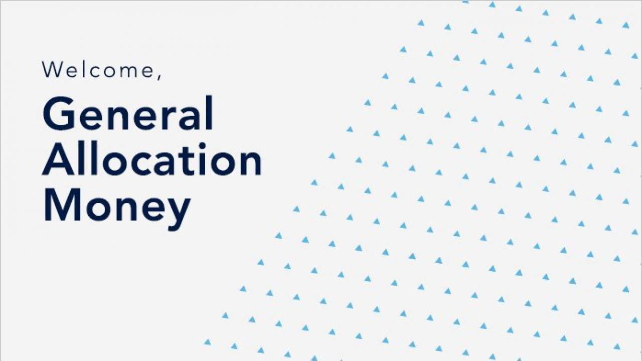 General Allocation Money