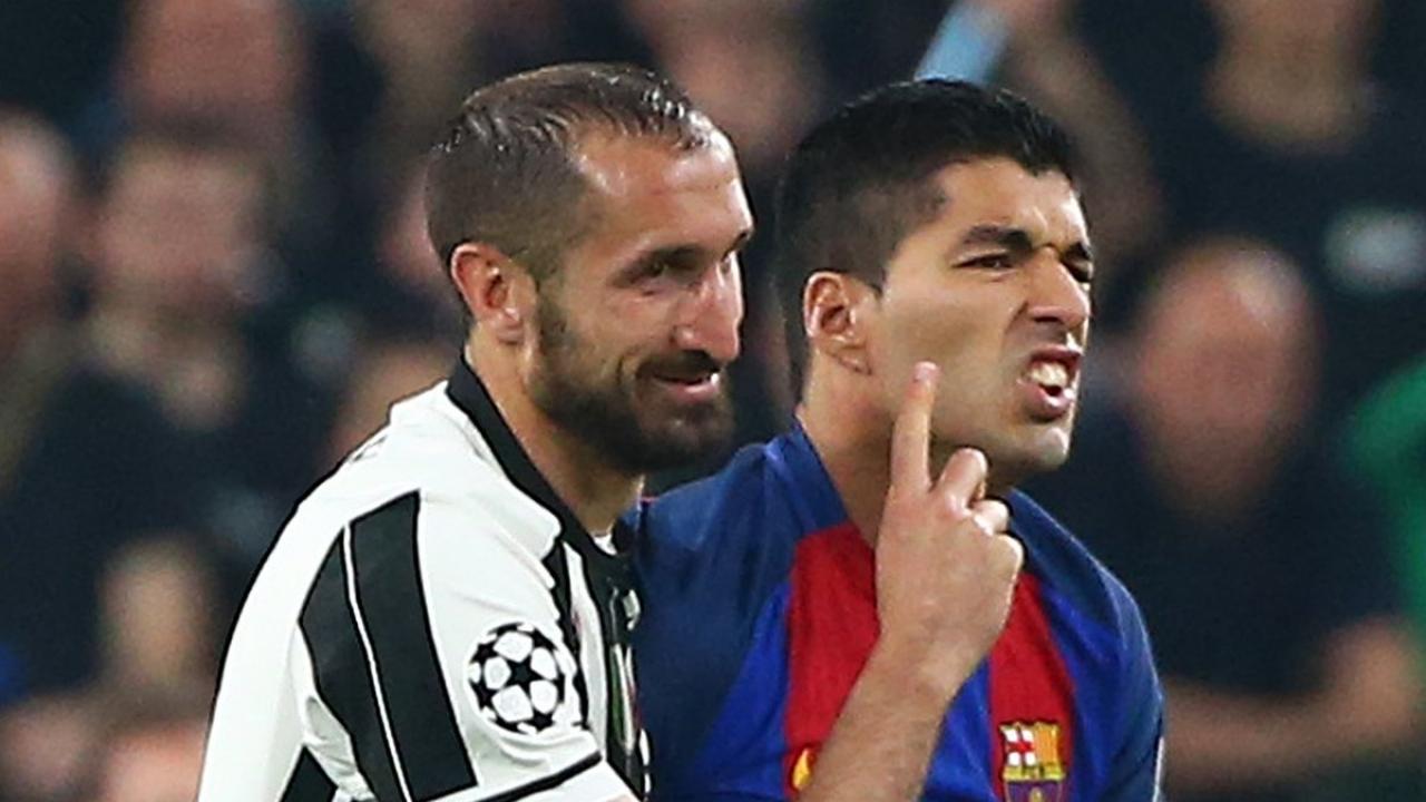 Giorgio Chiellini s Header Makes It Juventus 3 0 Barcelona