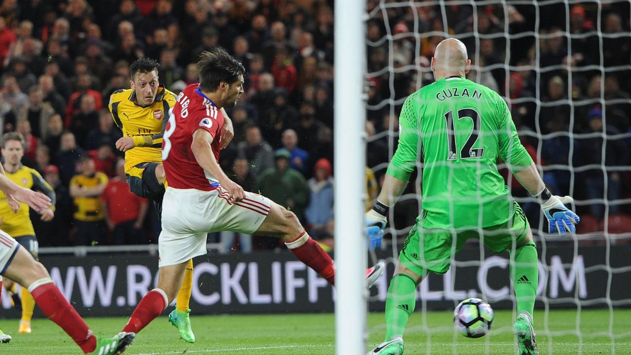 Arsenal Victory Over Middlesbrough