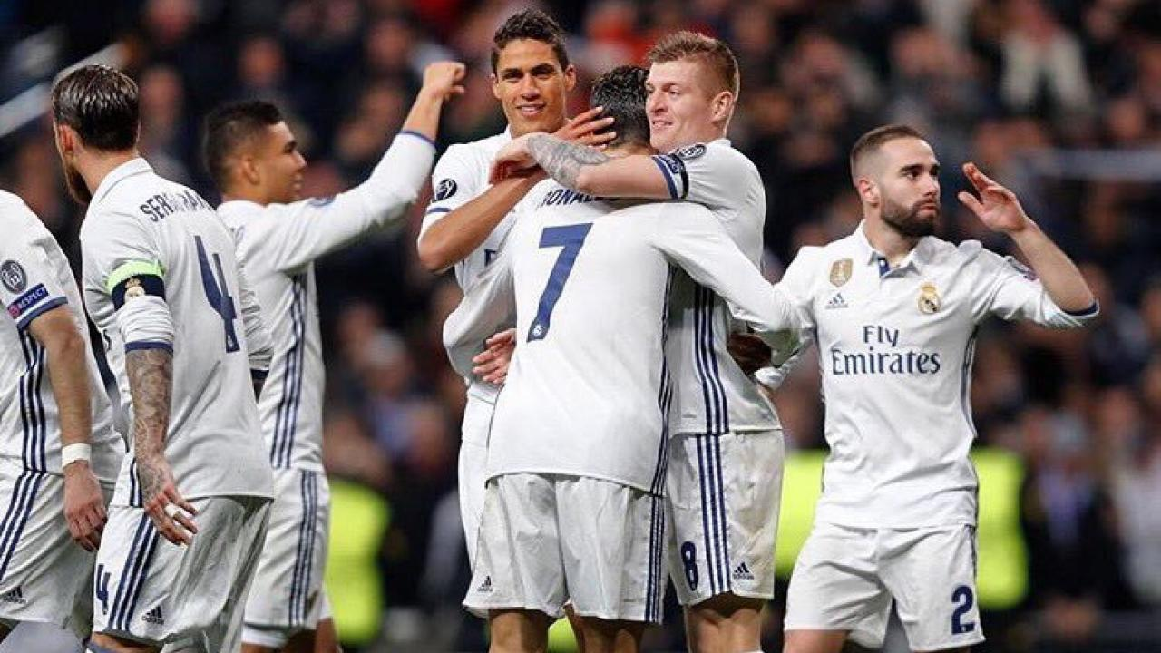 Ronaldo hat trick sends Real Madrid to UCL semi-final