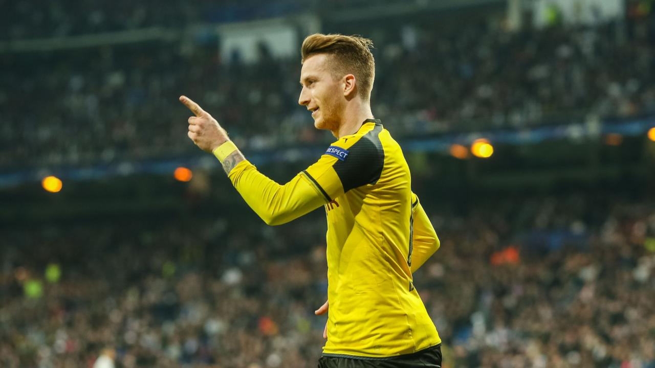 Marco Reus Reduces Dortmund s Deficit By 1 Goal