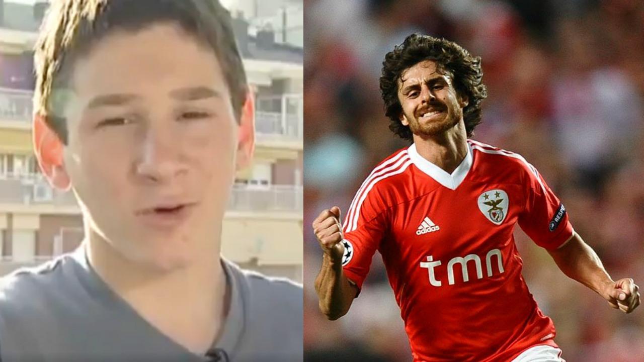 Lionel Messi and Pablo Aimar