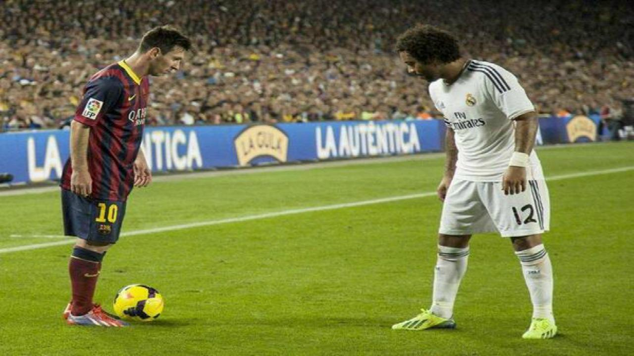 Lionel Messi vs. Marcelo