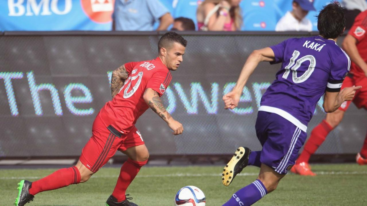 Sebastian Giovinco and Kaka
