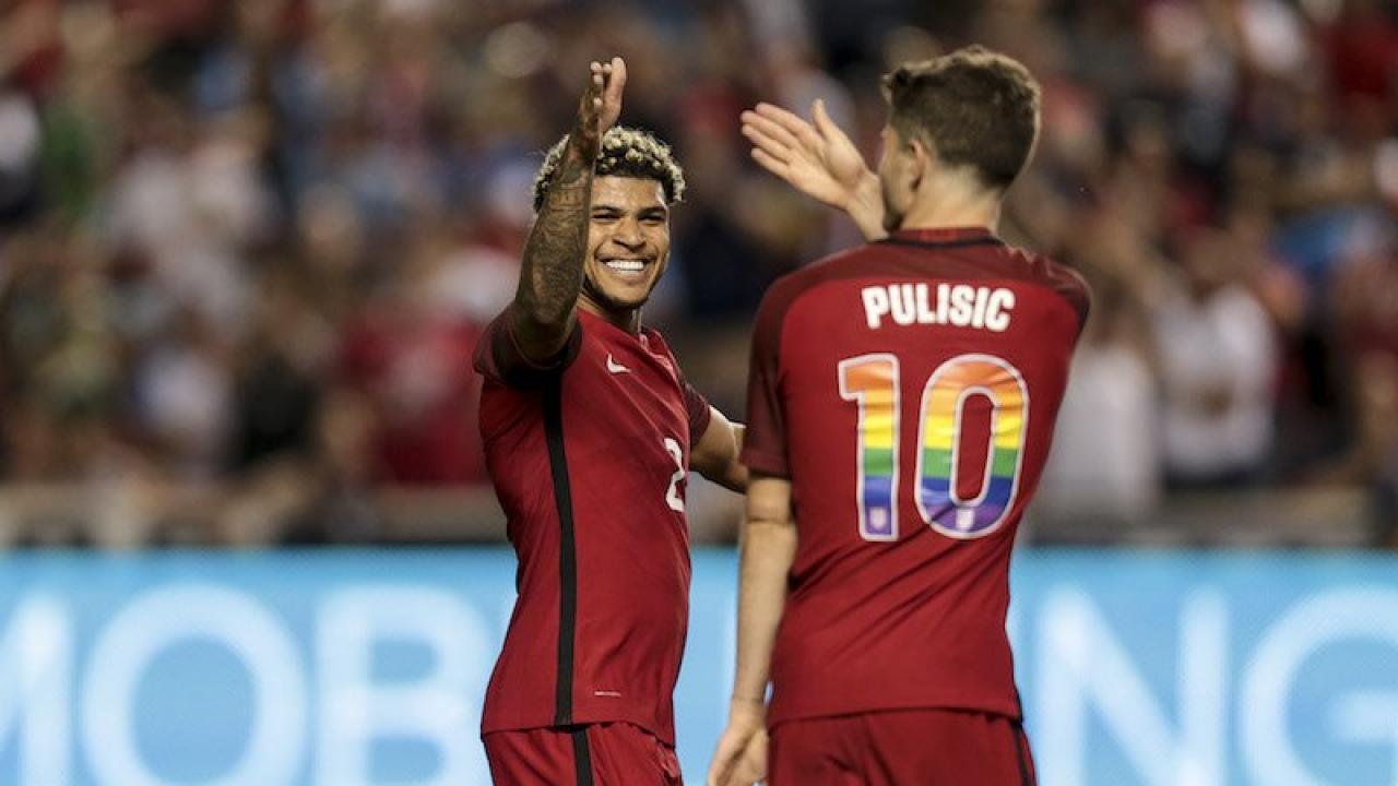 DeAndre Yedlin and Christian Pulisic