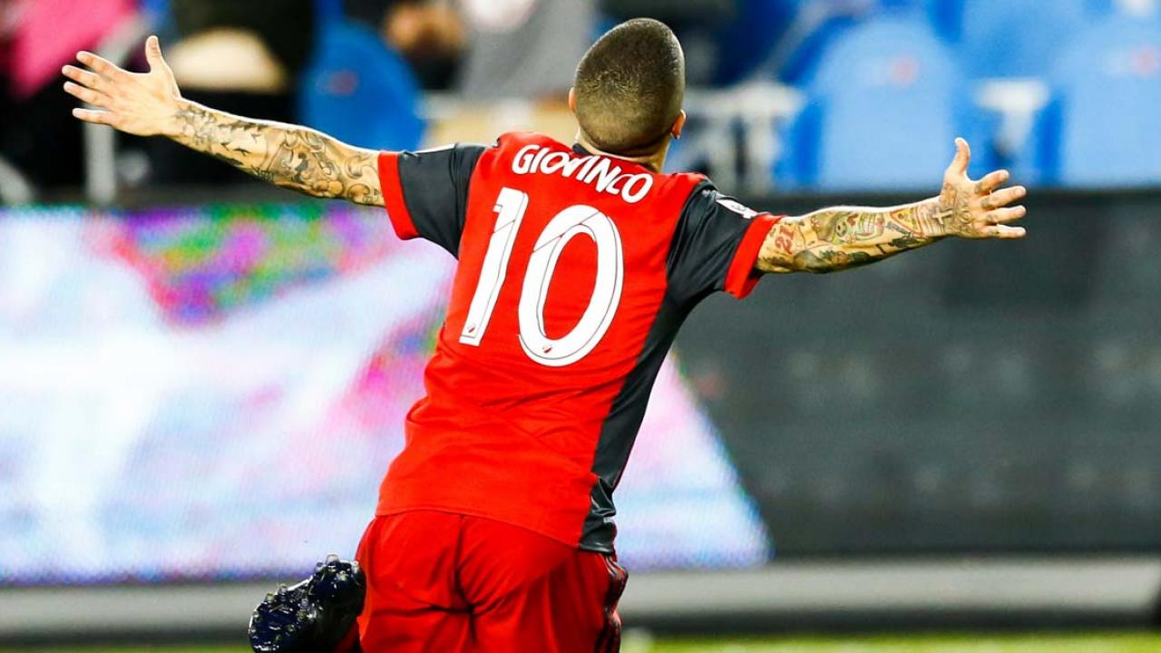 Sebastian Giovinco Goal Wins Canadian Championship For Toronto FC