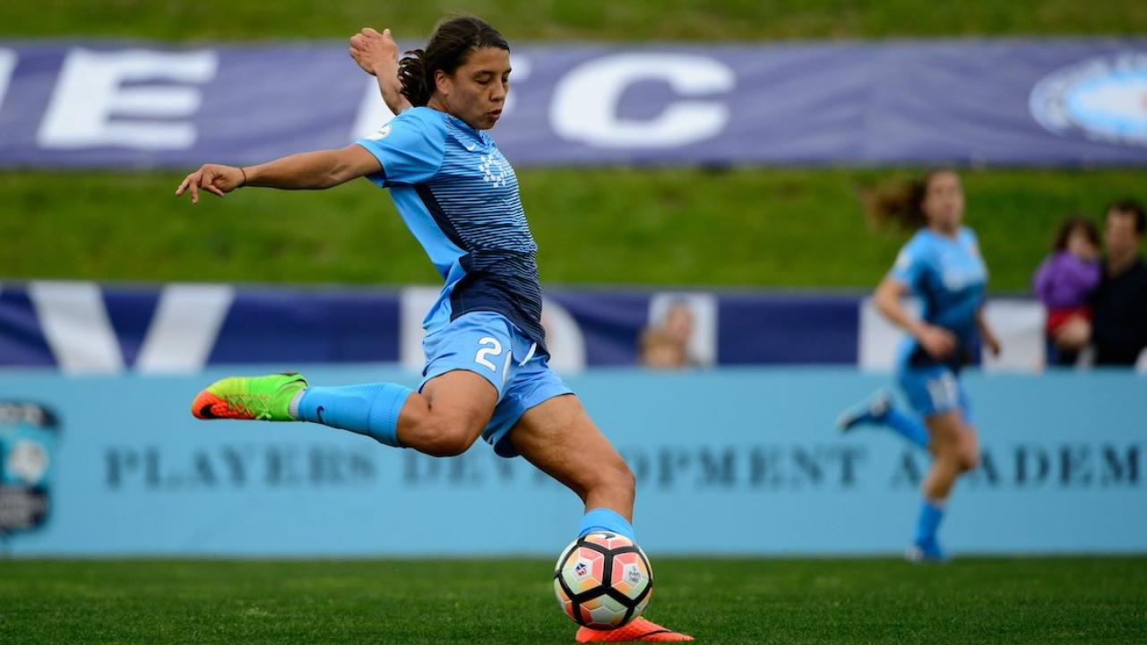 Carli Lloyd Quotes Sam Kerr Is The Nwsl's Alltime Leading Scorer The Refs Suck And