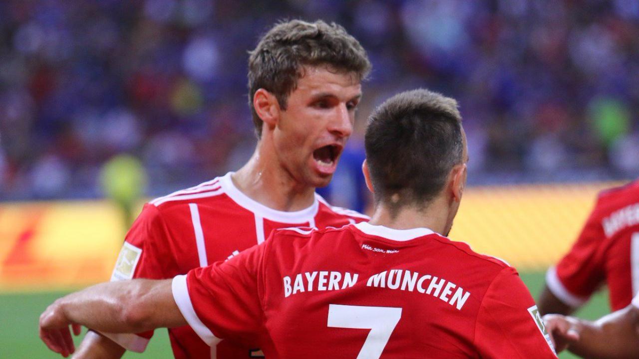 Thomas Muller Scores A Banger vs Chelsea