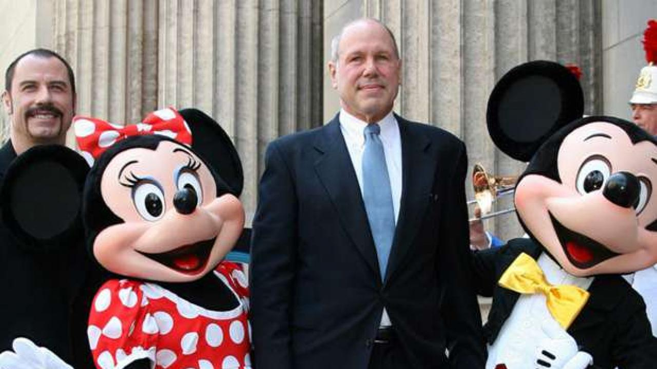 Former Disney CEO Michael Eisner