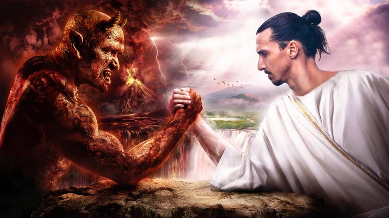 instagram ibrahimovic devil ile ilgili görsel sonucu