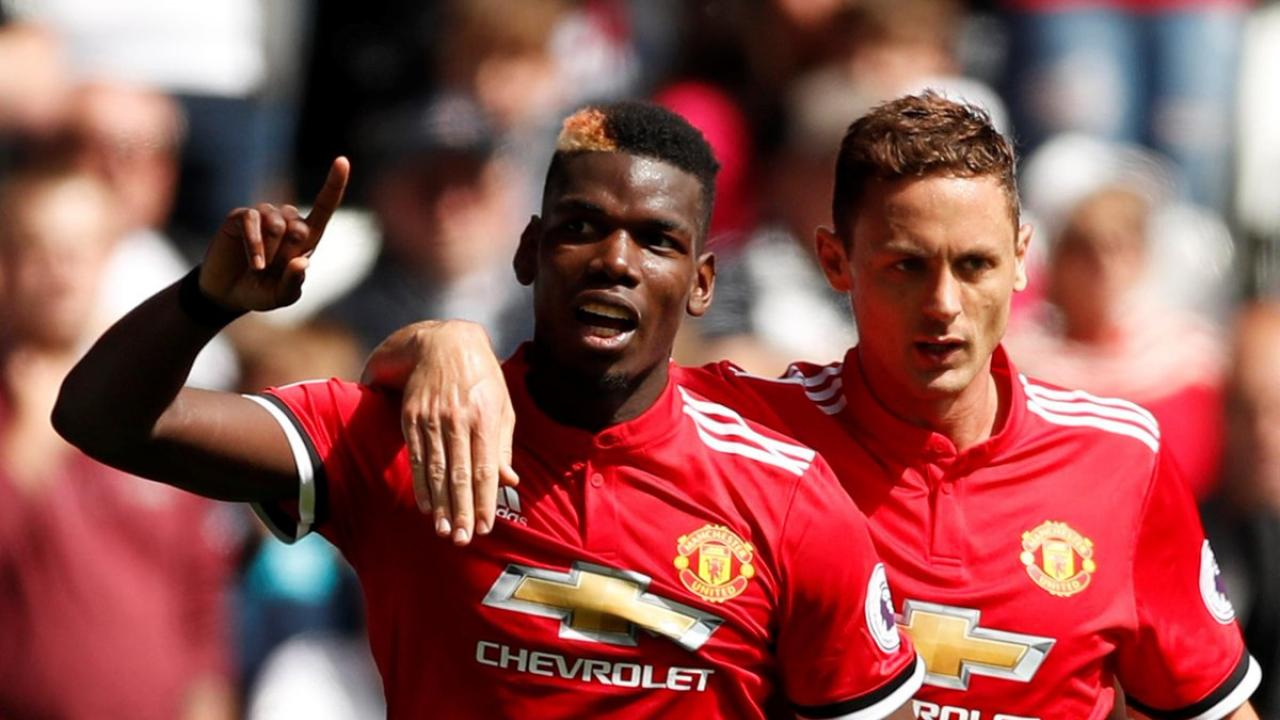 Paul Pogba and Nemanja Matic
