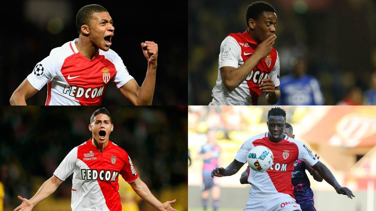 AS Monaco transfers