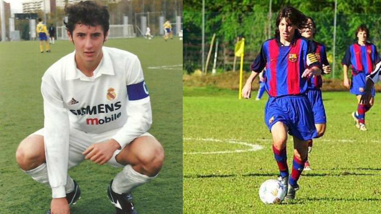 Esteban Granero and Lionel Messi
