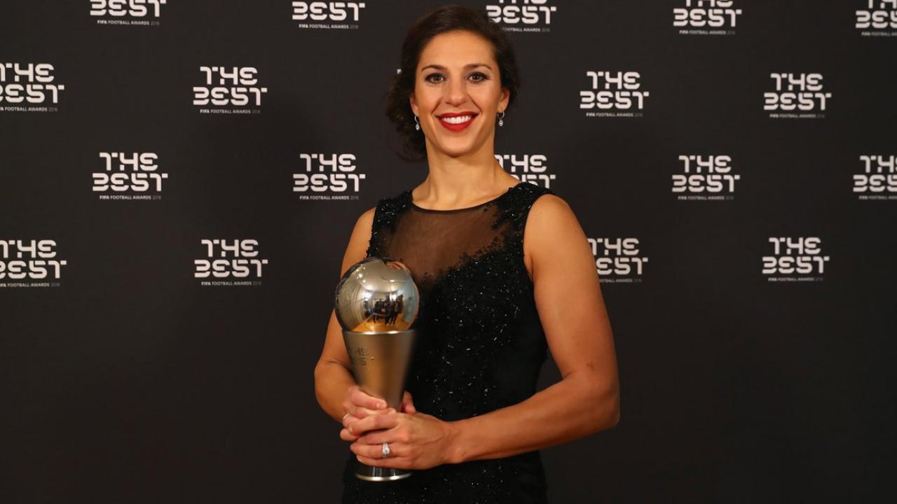 Carli Lloyd FIFA Best Women's Player