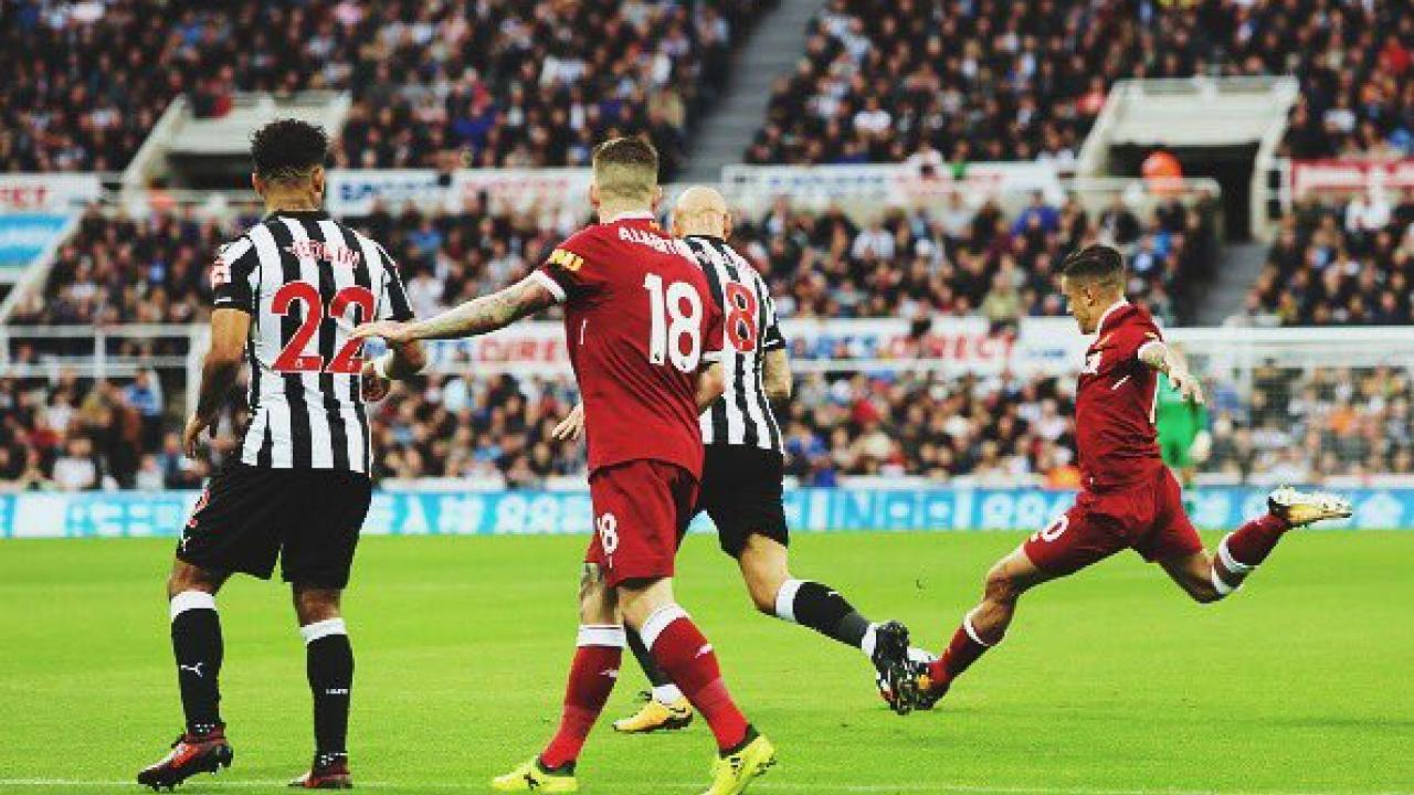 Philippe Coutinho goal Newcastle United
