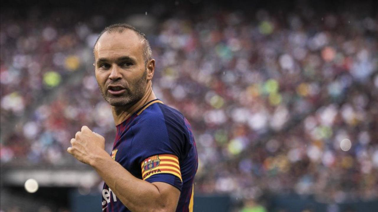 Andres Iniesta Lifetime Contract With Barcelona