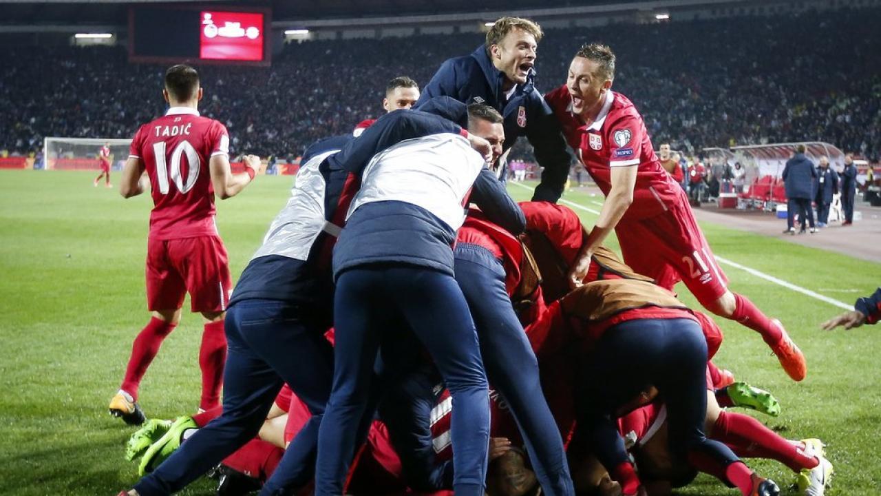 serbia returns world cup after winning weak