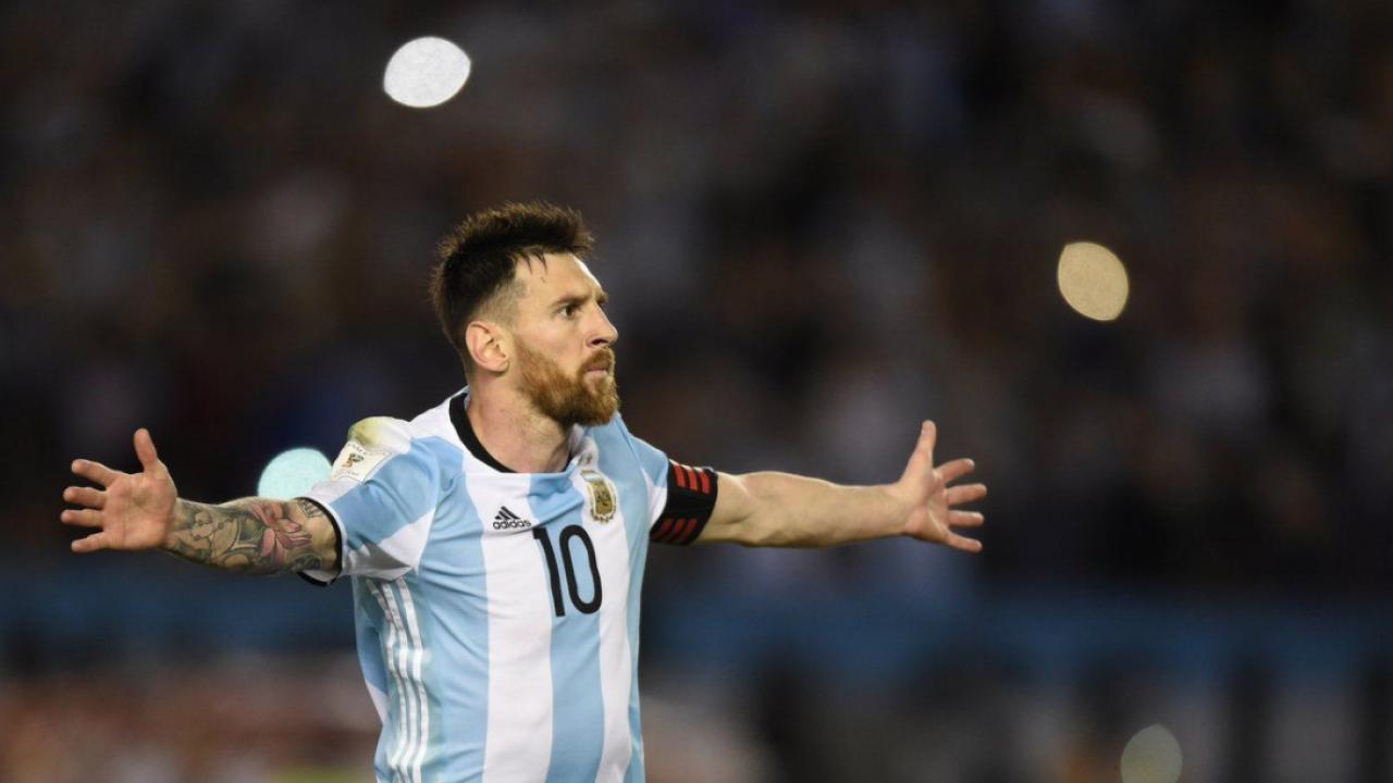 Lionel Messi goals vs Ecuador