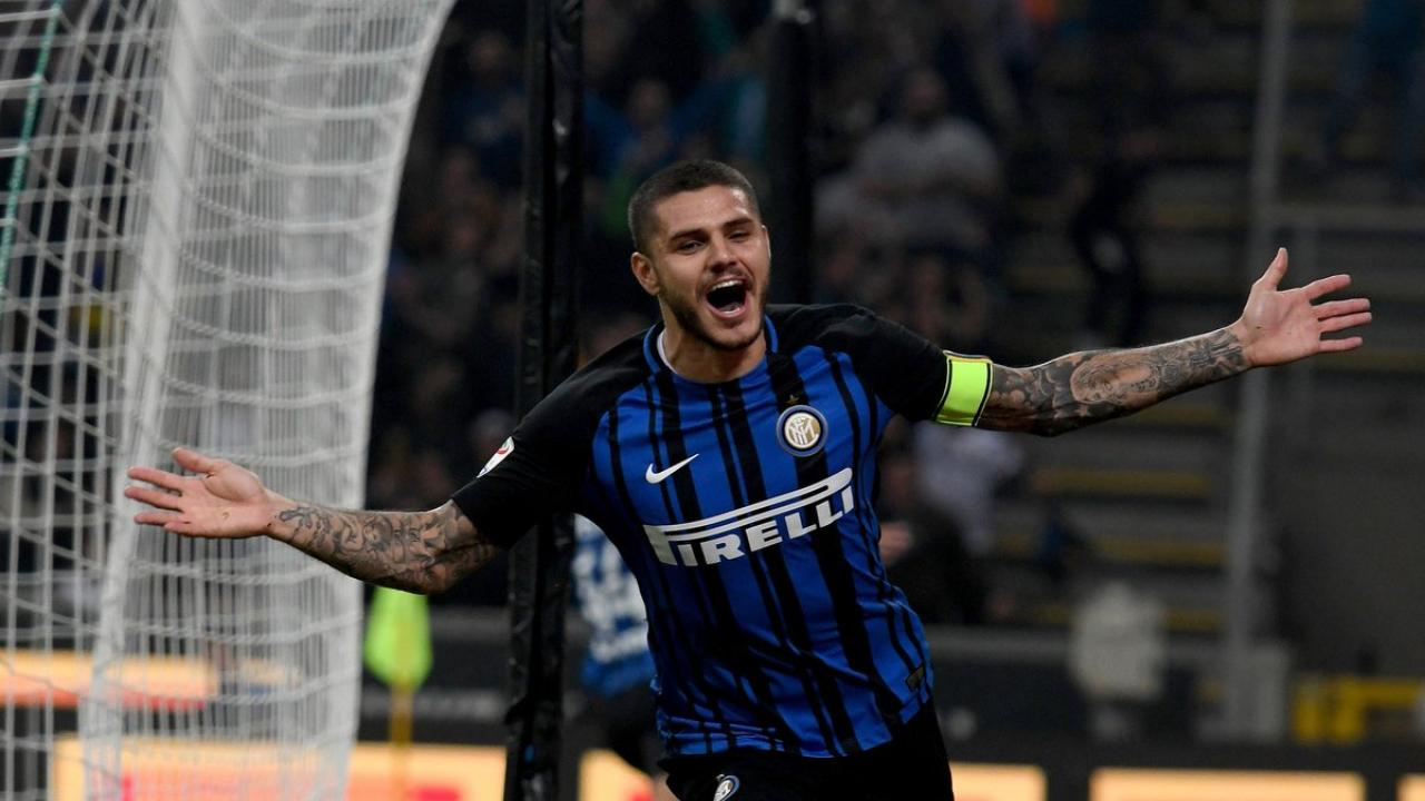 Mauro Icardi Hat Trick Powers Inter To 3 2 Win In Milan Derby