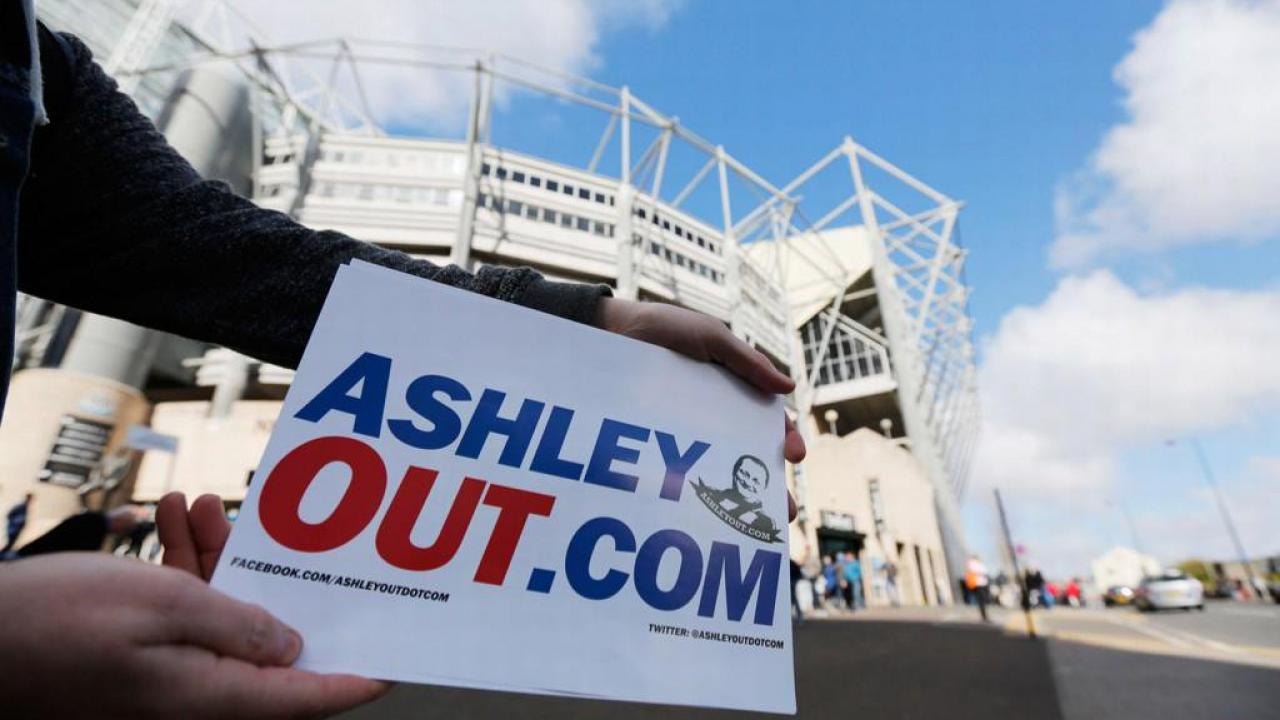 Newcastle United up for sale