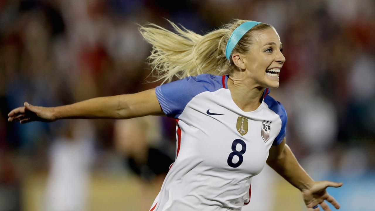 Julie Ertz Goal Scoring Is On Par With Sergio Ramos