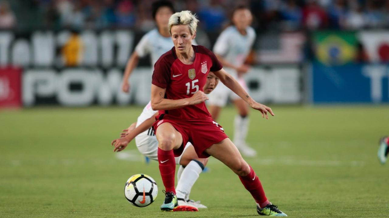 Megan Rapinoe Relationship Wit...