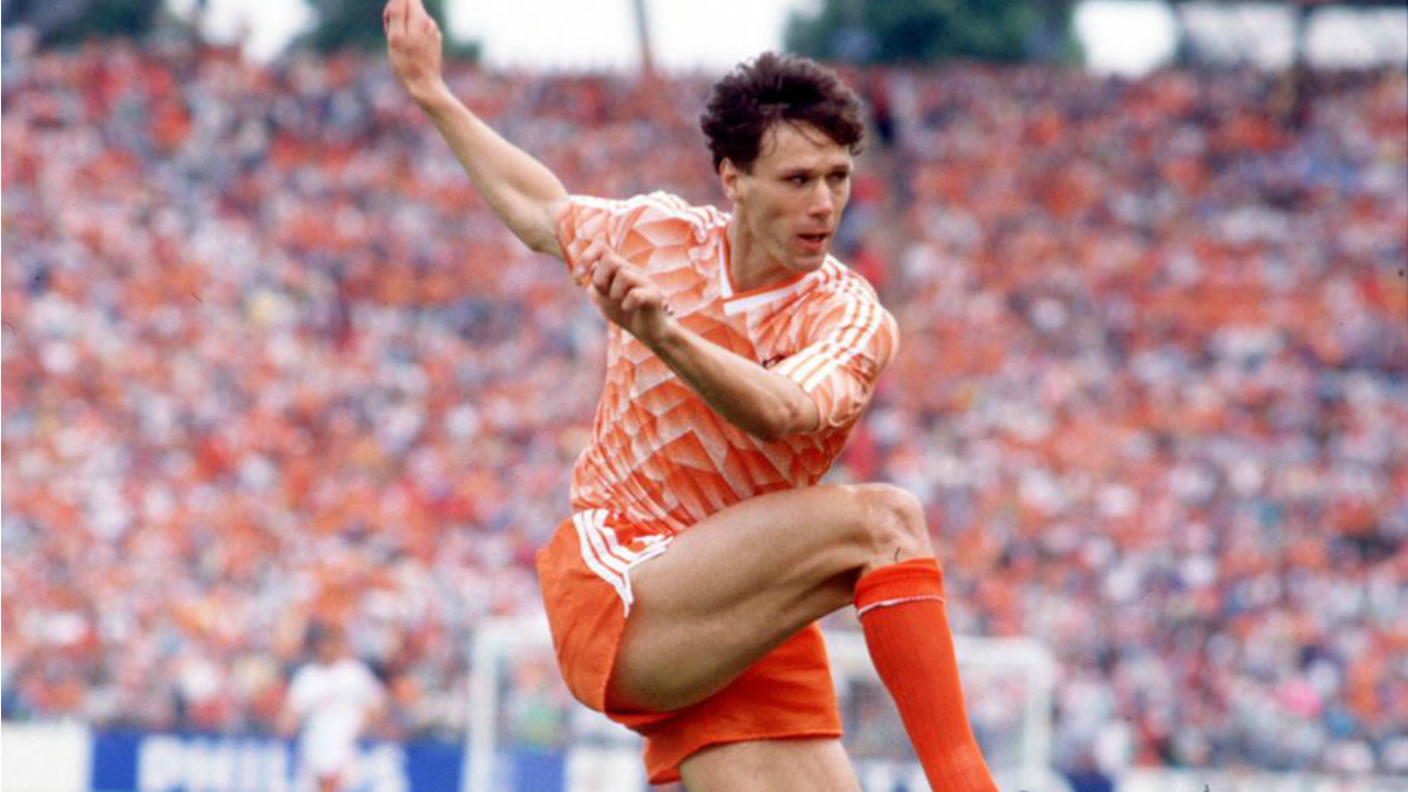 Marco Van Basten Volley Makes For Perfect Viewing His Birthday