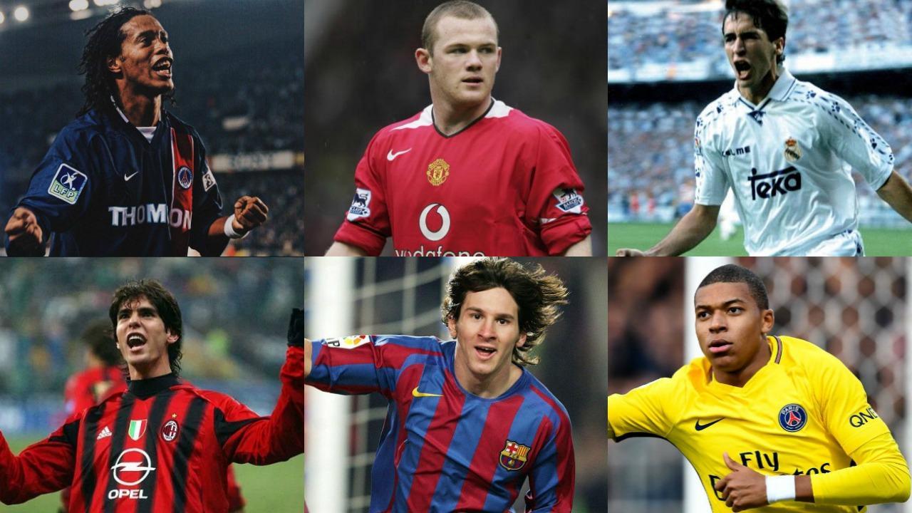 Youngest hat trick Champions League goal scorers
