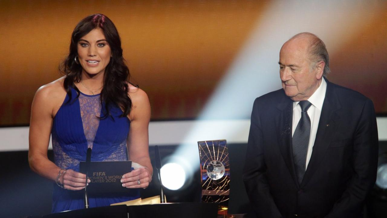 Hope Solo Sepp Blatter Sexual Assault Allegations