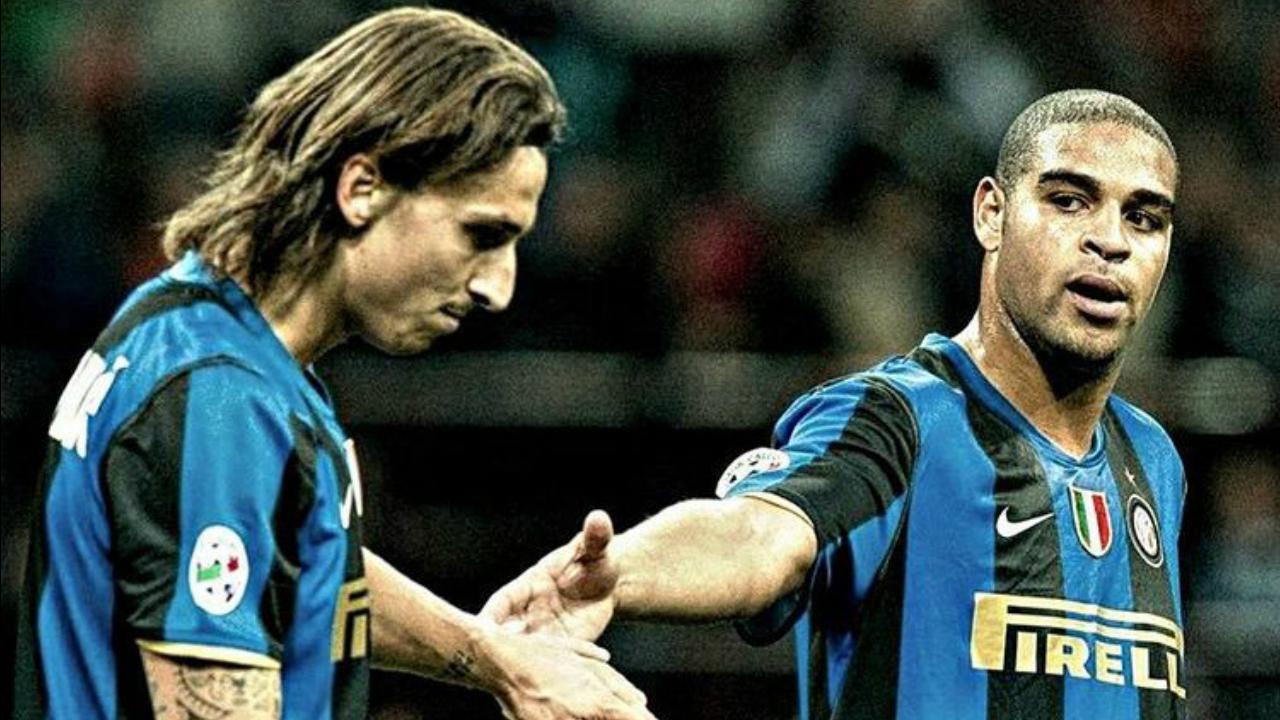 Zlatan Ibrahimovic Adriano partnership