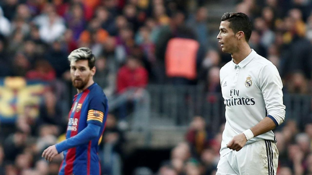 El Clasico top scorers - Messi and Ronaldo