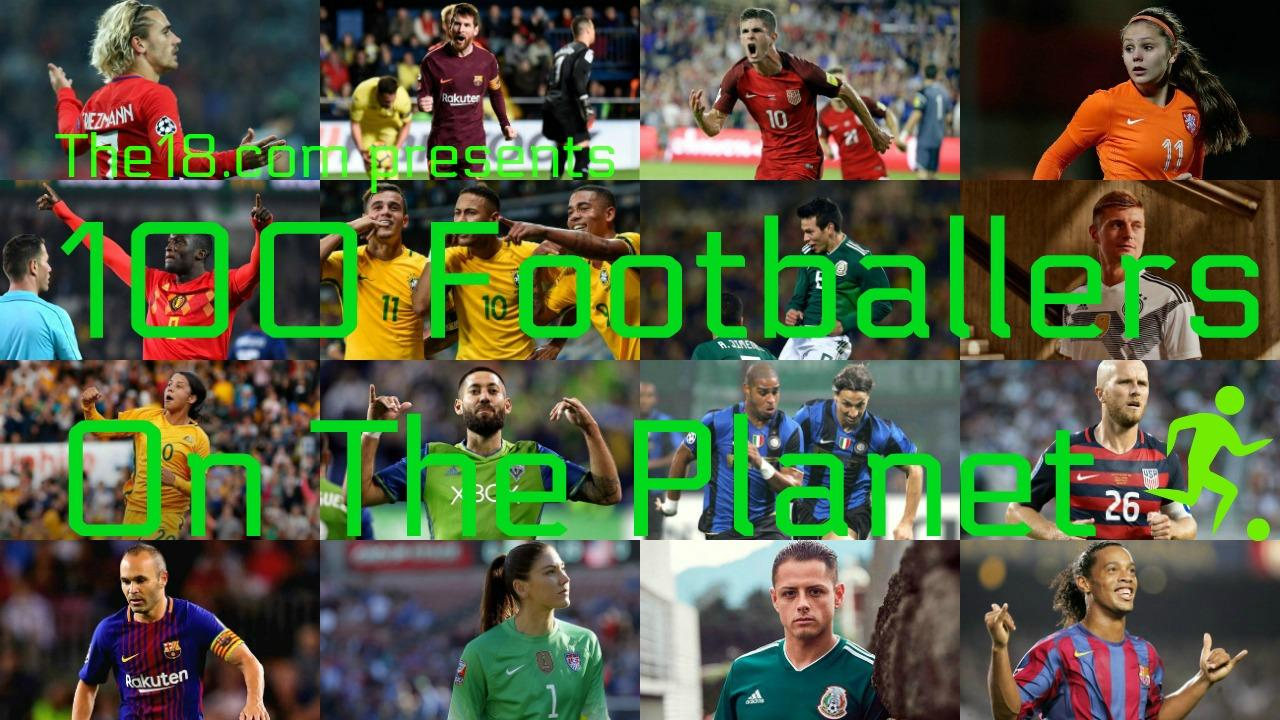 100 Footballers on the Planet