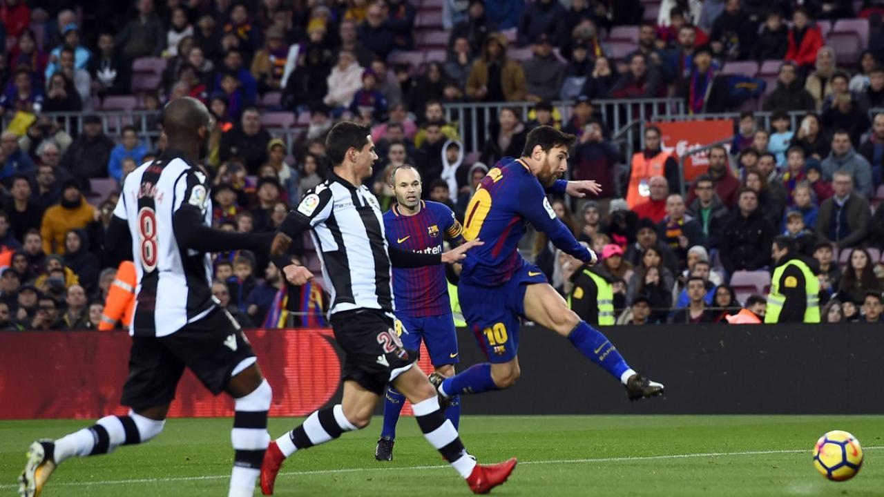 Lionel Messi goal vs Levante