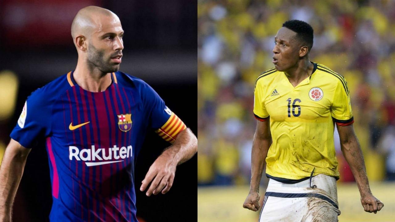 Yerry mina barcelona transfer marks the end of javier mascherano yerry mina barcelona transfer stopboris Gallery