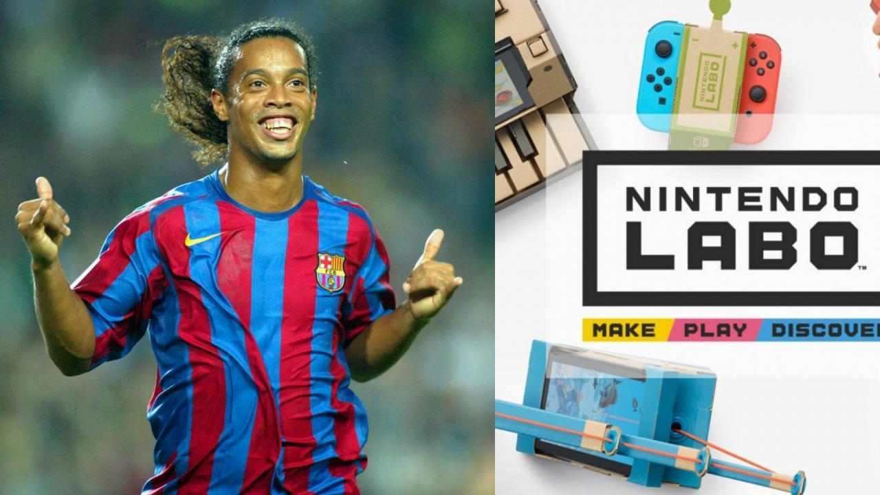 Ronaldinho creativity