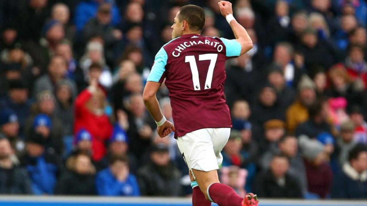 Chicharito goal vs Brighton